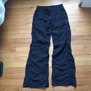 LULULEMON BLACK FULL LENGTH PANTS